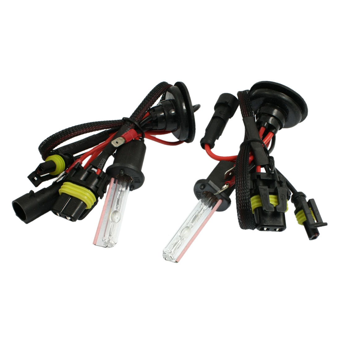 2 Pcs Car DC 12V 35W H1 HID Xenon Bulbs Headlight Lamp 12000K
