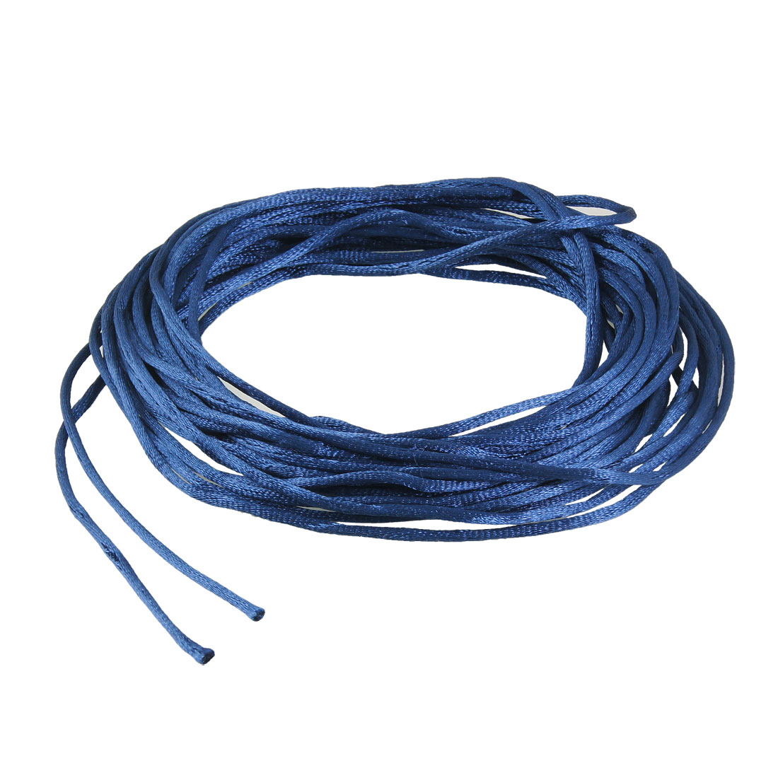Royal Blue Braided Thread Nylon Handwork Chinese Knot Rat Tail Cord