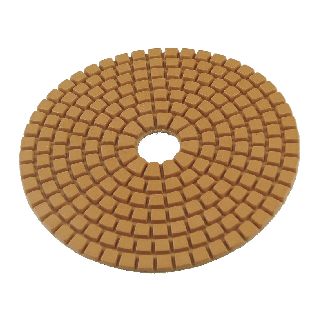 "3.8"" 1000 Grit Diamond Polishing Pad 5mm Thickness for Concrete Marble Granite"