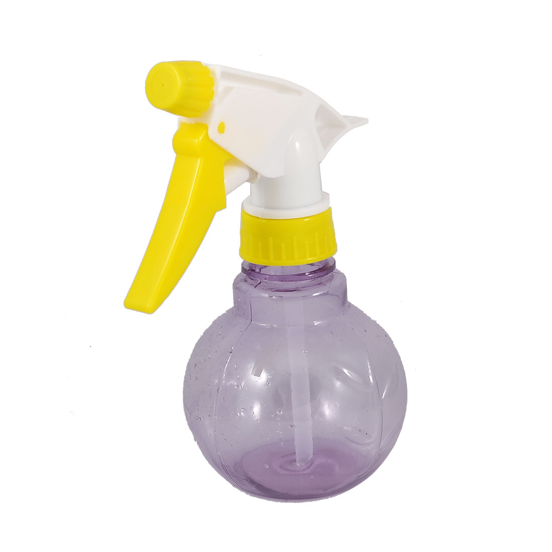 Plastic Barber Shop Clear Purple Trigger Water Spray Bottle Sprinkler 220ml