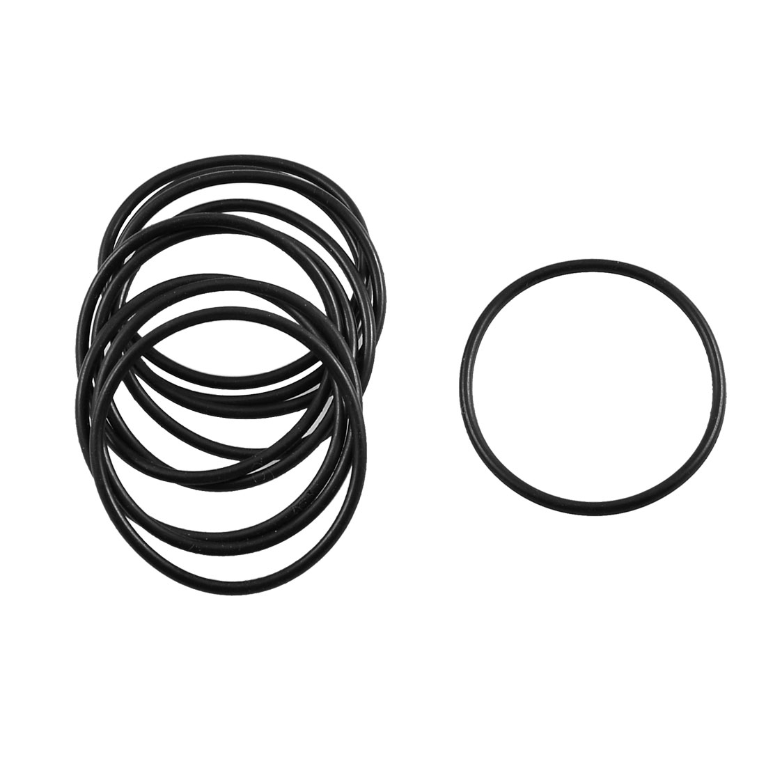 10 Pcs Black Rubber O Ring Oil Seal Sealing Gasket Washer 32.5mm x 1.8mm