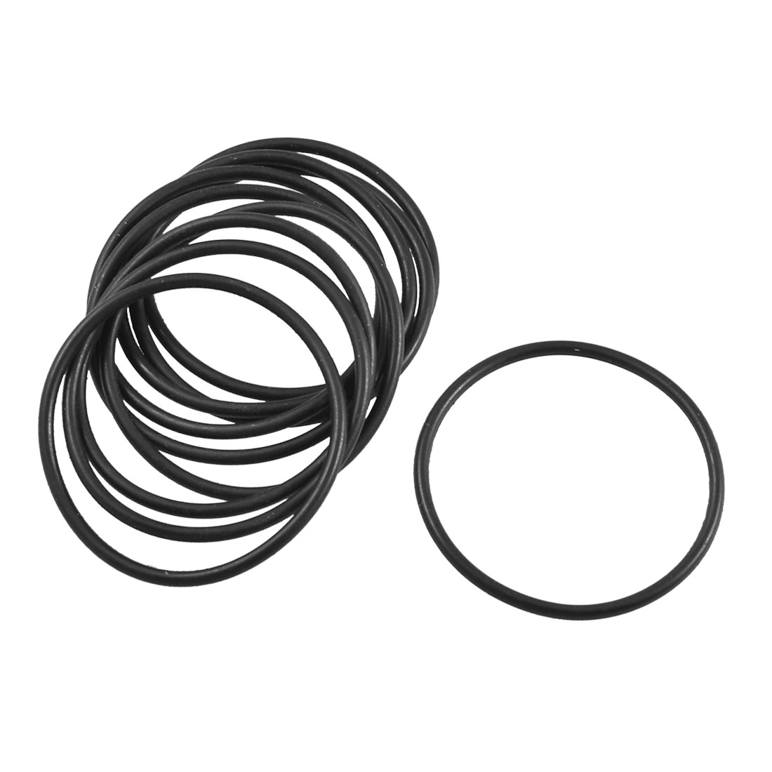 10 Pcs Black Rubber Oil Filter O Ring Sealing Gaskets 31.5mm x 1.8mm