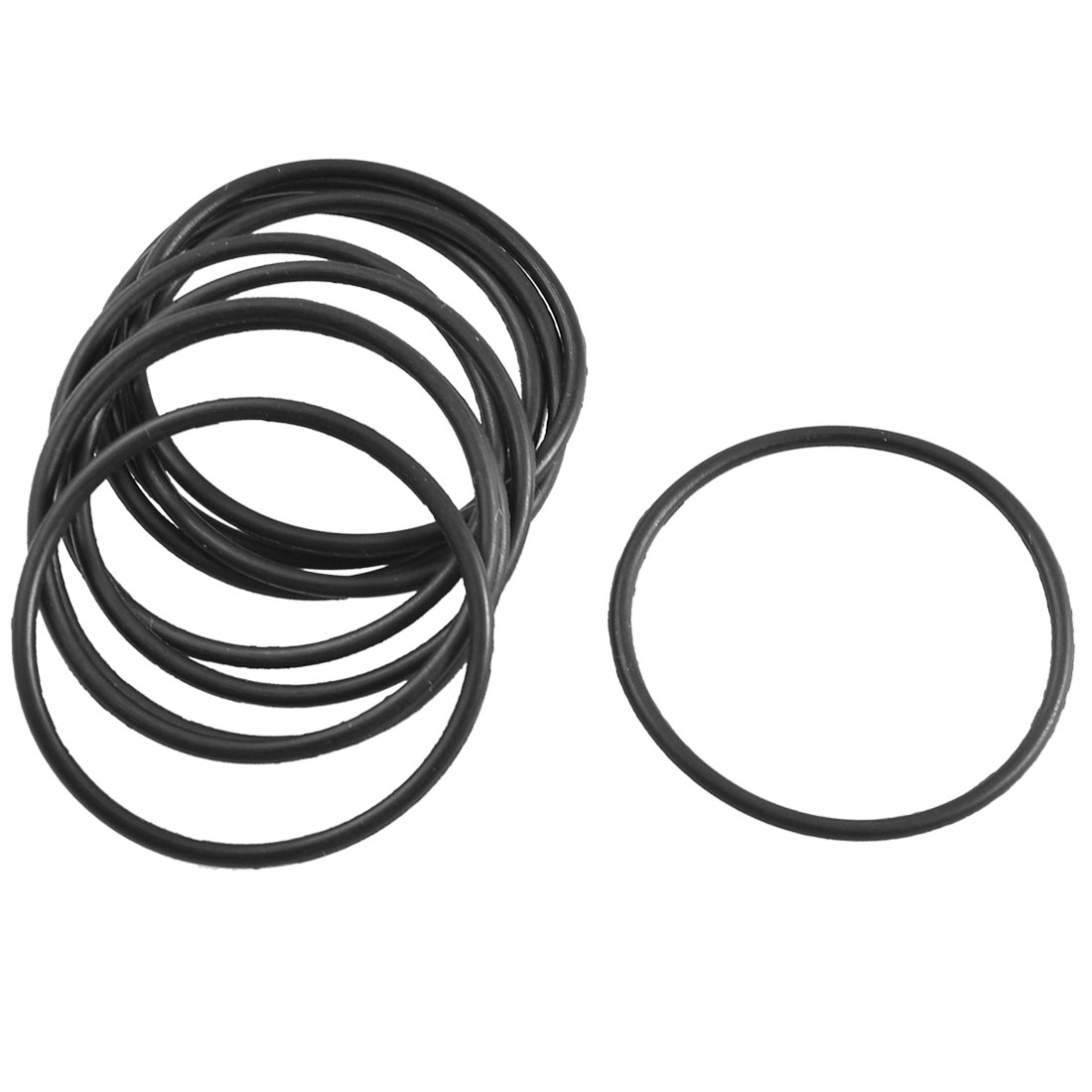 10 Pcs Black Rubber O Ring Oil Seal Sealing Gasket 33.5mm x 1.8mm