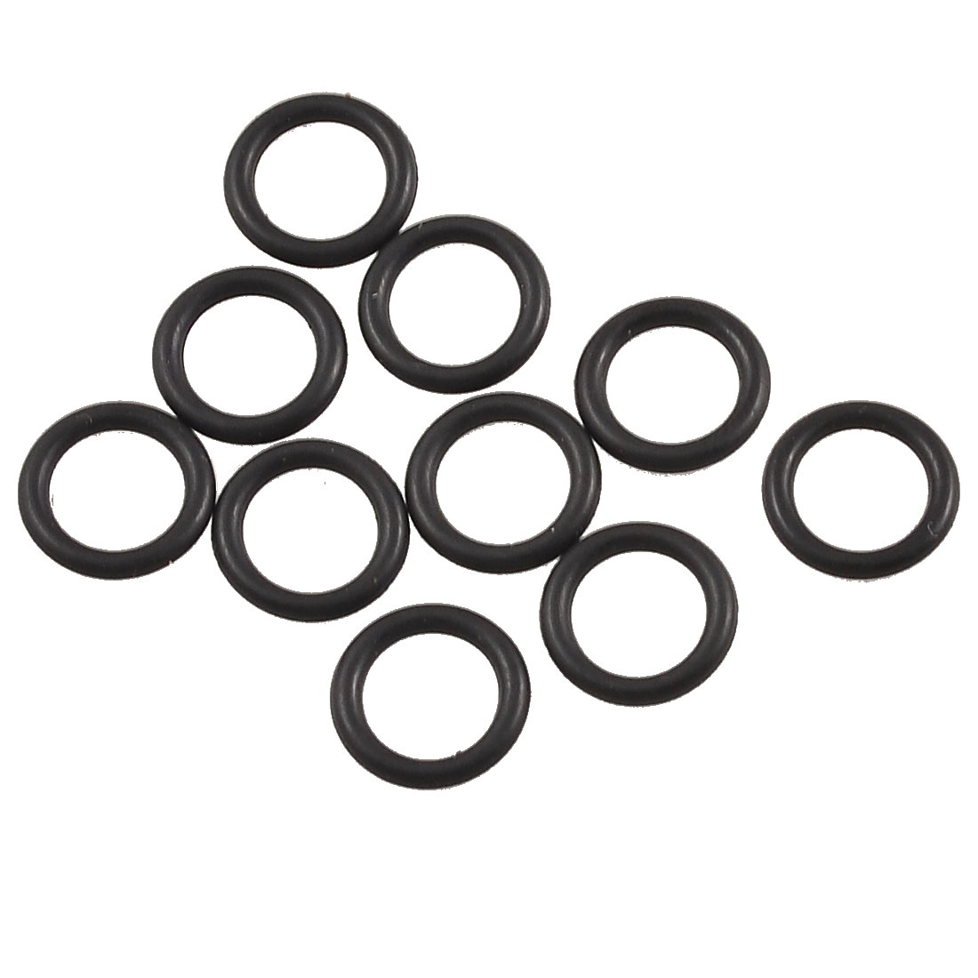 10 Pcs Black Rubber Oil Filter Seal O Ring Gaskets 8mm x 5mm x 1.5mm