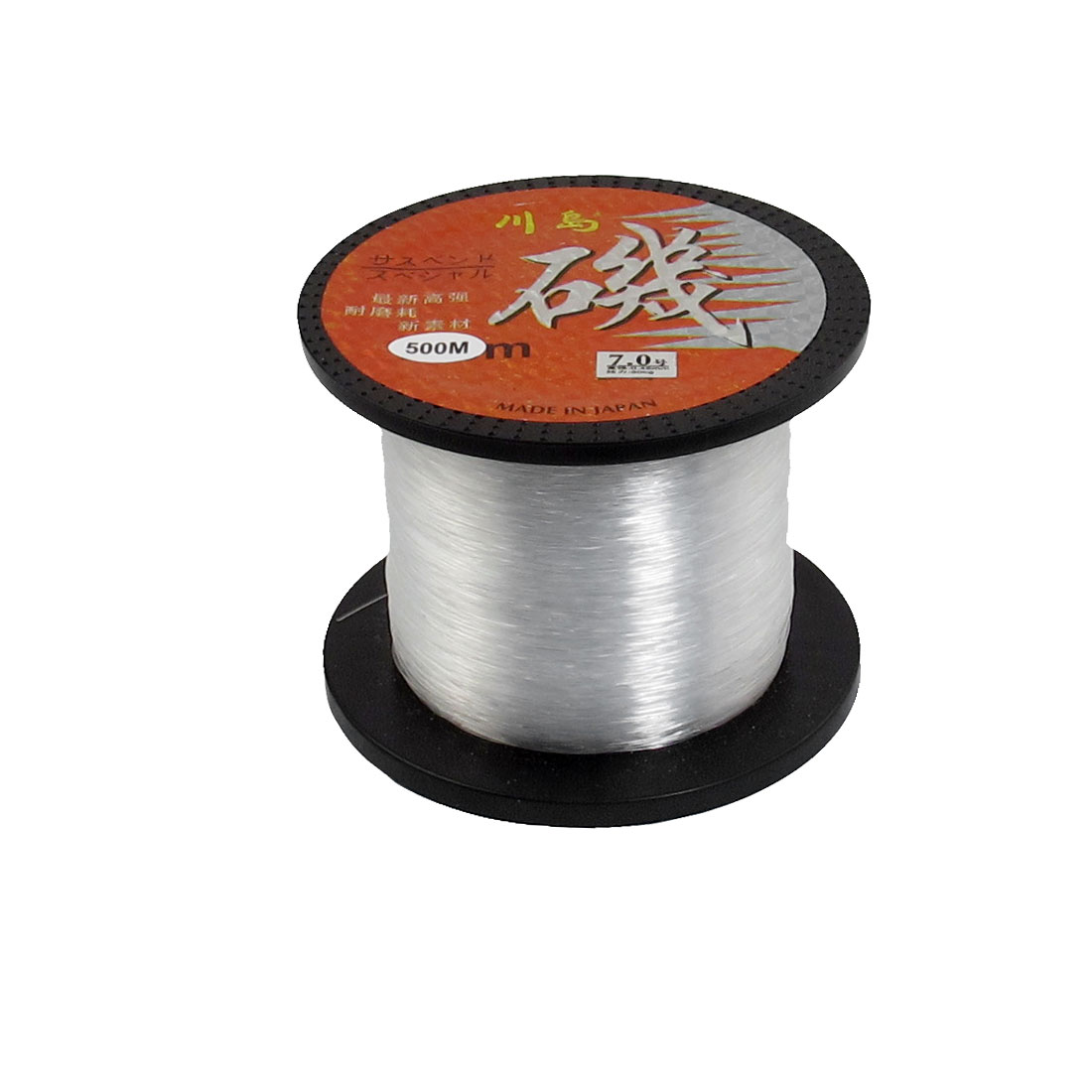 7# 30Kg 0.45mm Dia 500M Long Clear Line Fishing Thread Spool