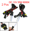 2 Pcs Car DC 12V 35W H1 HID Xenon Bulbs Headlight Lamp 8000K