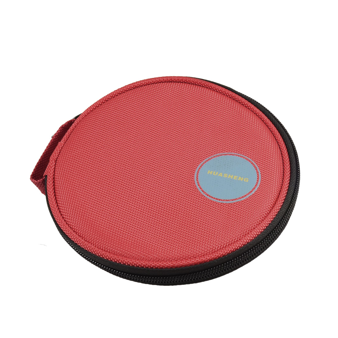 Hand Carrying DVD CD Discs Holder Pocket Bag Organizer Red