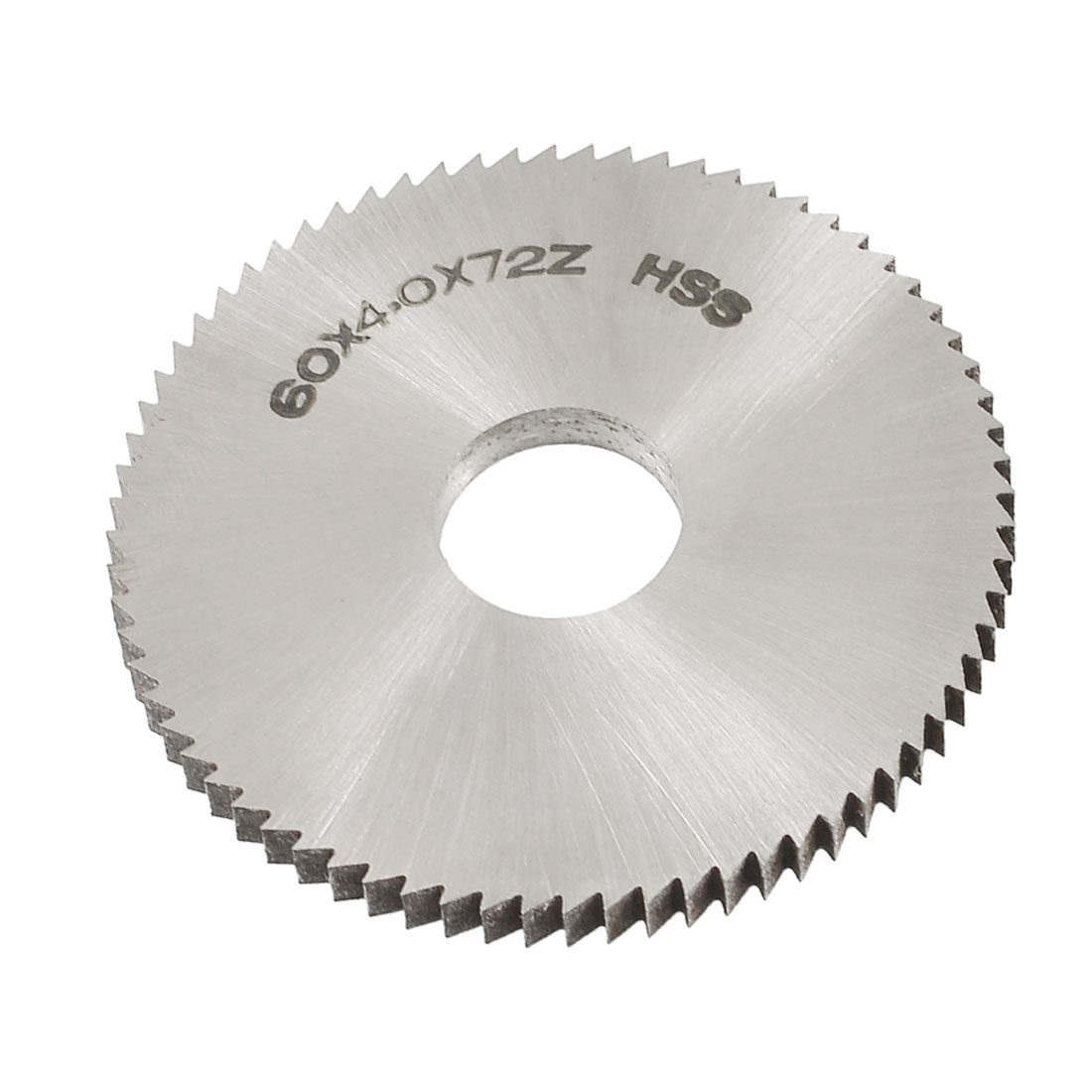 60mm OD 4mm Thickness 72T HSS Circular Slitting Saw