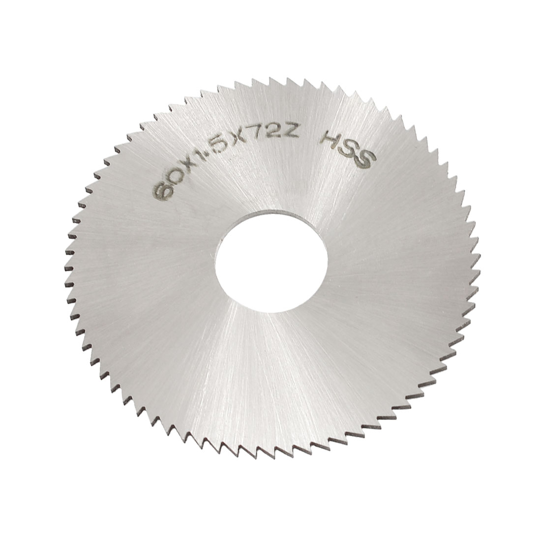 60mm x 1.5mm x 16mm 72T HSS Steel Round Slitting Saw Cutter