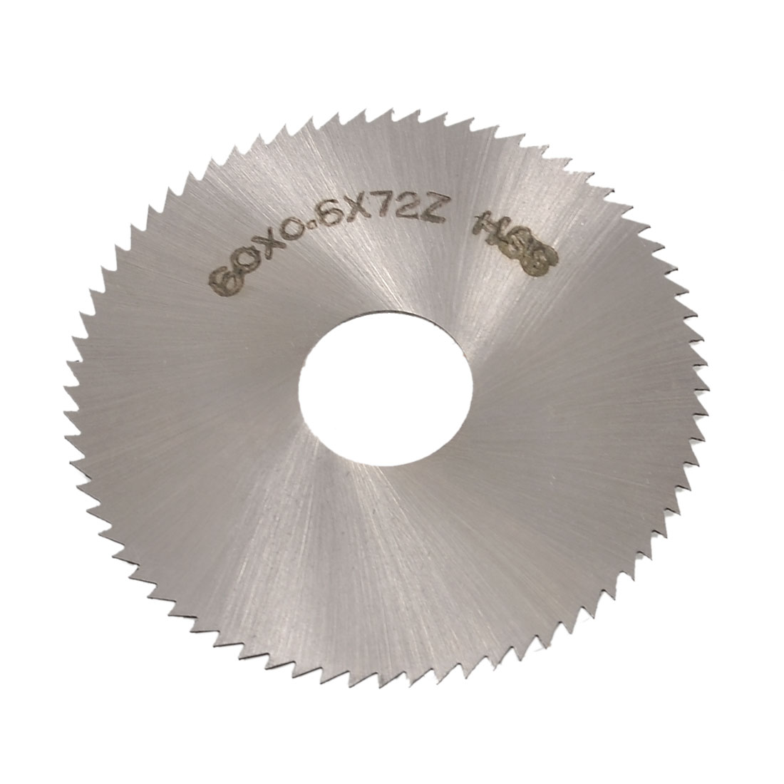 60mm OD 0.6mm Thickness 72T HSS Circular Slitting Saw Cutter