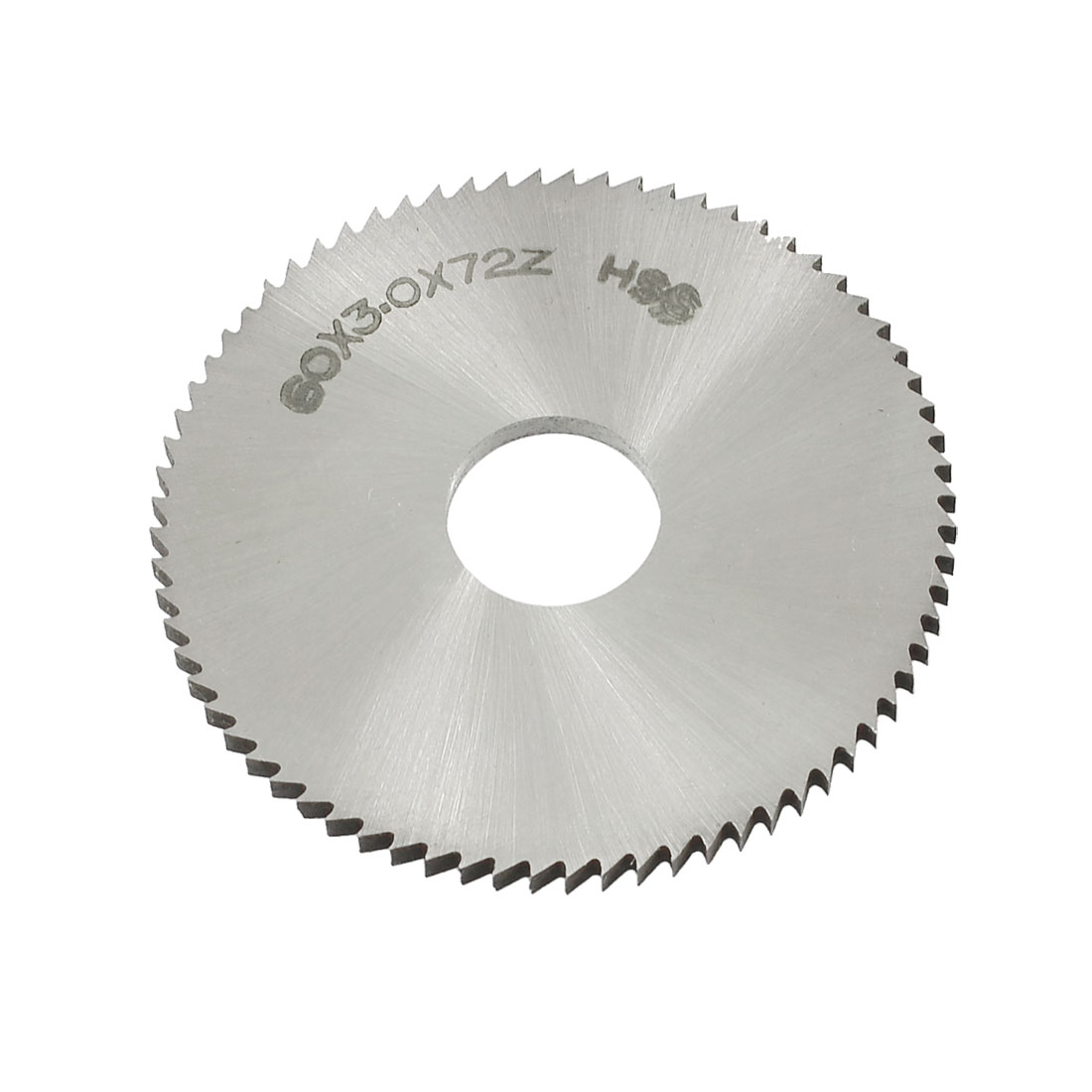 60mm OD 3mm Thickness 72T HSS Circular Slitting Saw