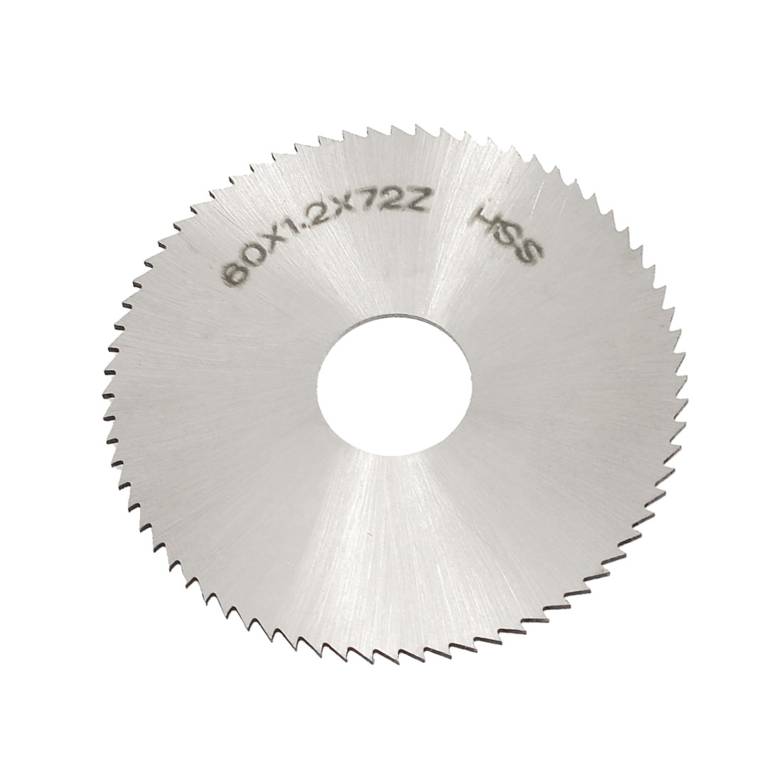 60mm OD 1.2mm Thickness 72T HSS Circular Slitting Saw