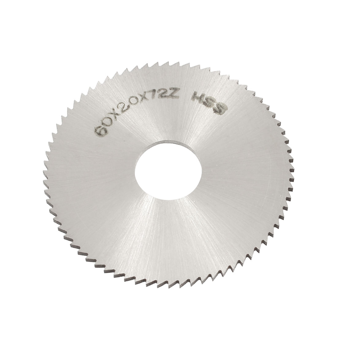 60mm OD 2mm Thickness 72T HSS Circular Slitting Saw