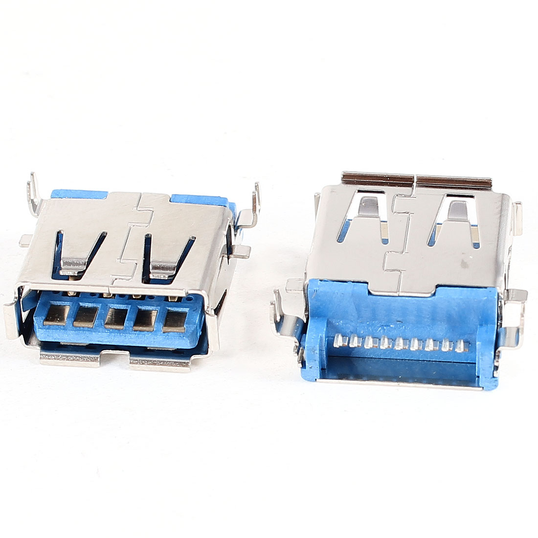 2 x Replacement Port USB 3.0 Jack Socket A Female 90 Degree DIP