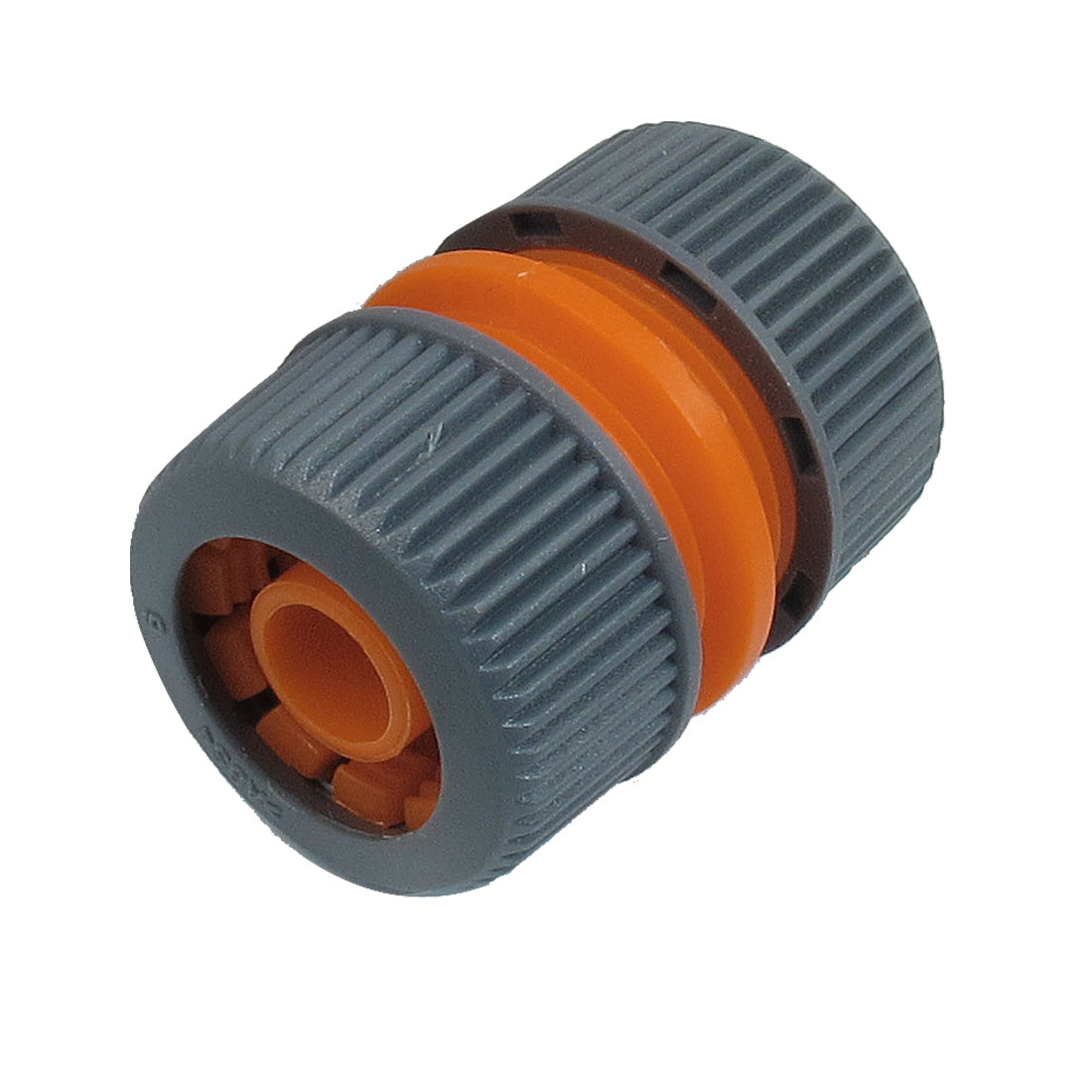 "15/32"" x 25/32"" Water Hose Pipe Plastic Quick Click Connector Coupler"