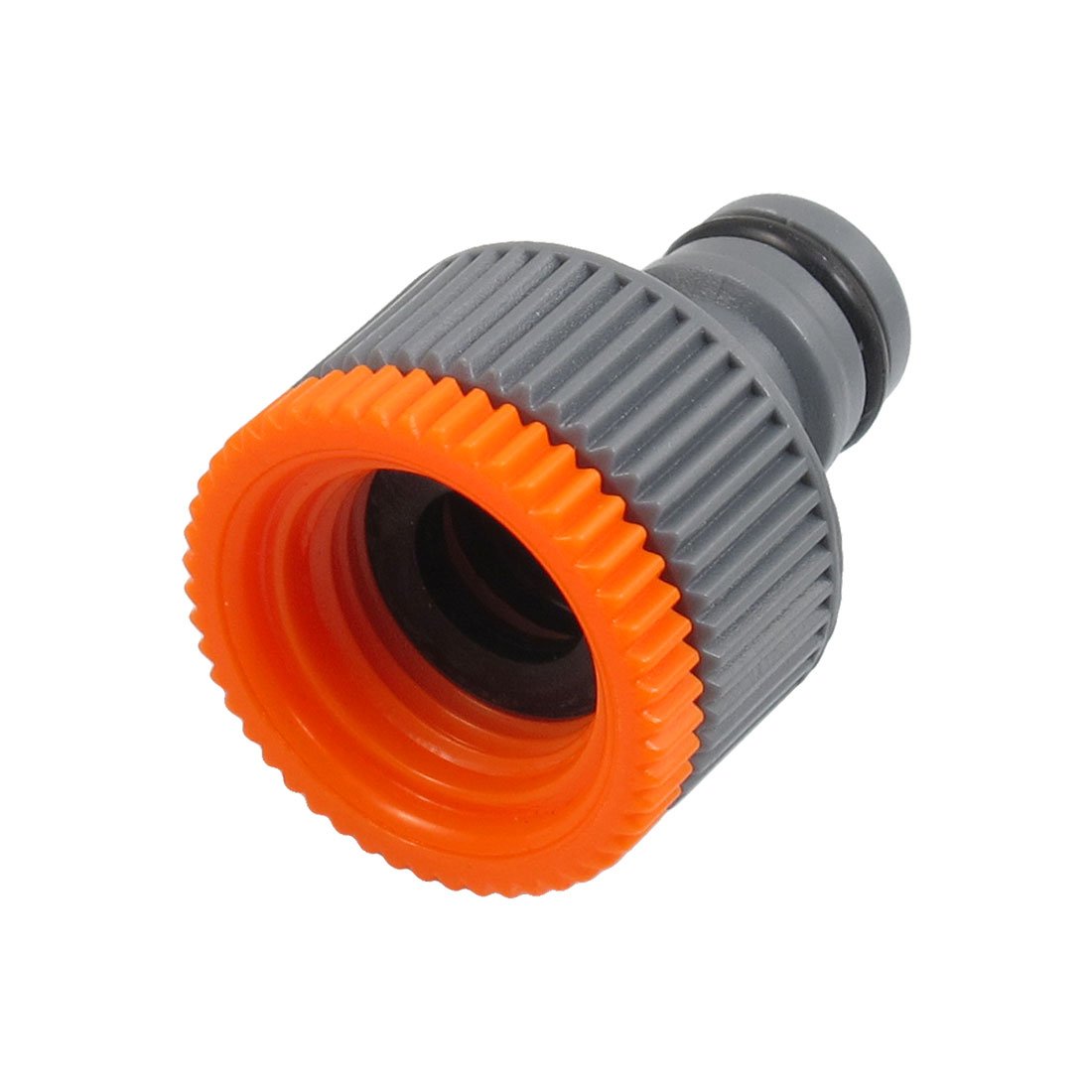 Gray Orange Plastic Quick Coupler Disconnect 19mm Thread for 16mm Connector