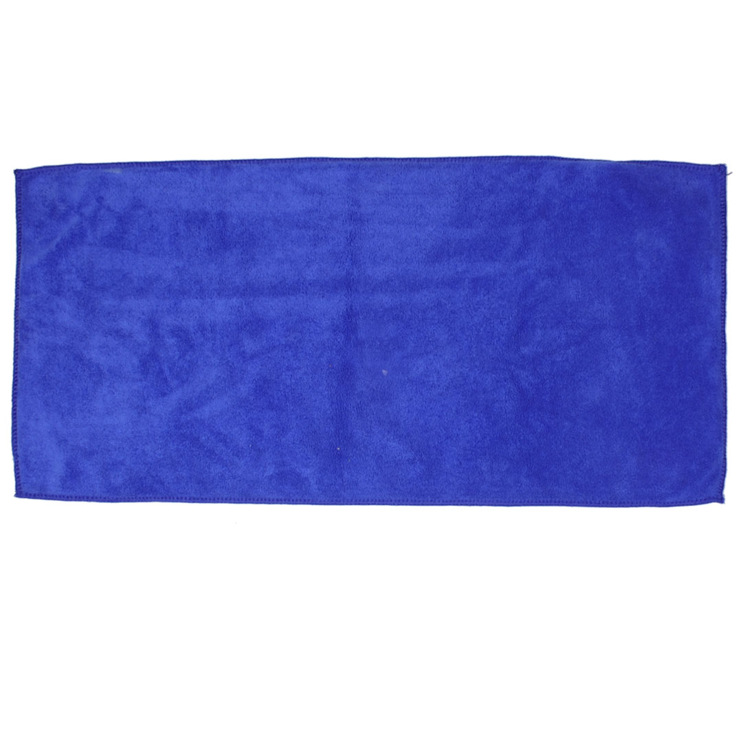 "Blue Microfiber Towel Car Cleaning Home Cloth 26"" x 12.6"""