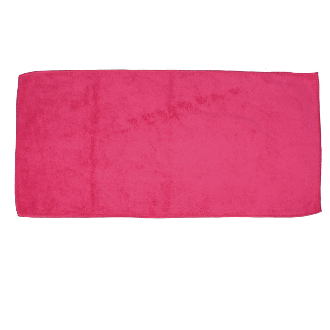 "Rectangle Red 26"" x 12.6"" Microfiber Towel Car Cleaning Cloth"