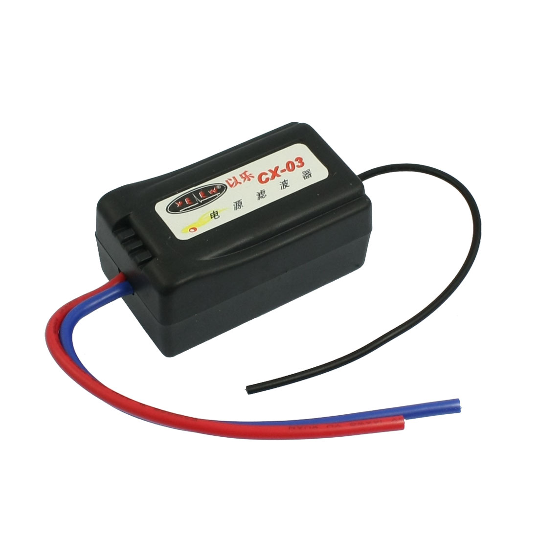 Car Truck Blue Input Red Output Wire Power Noise Filter