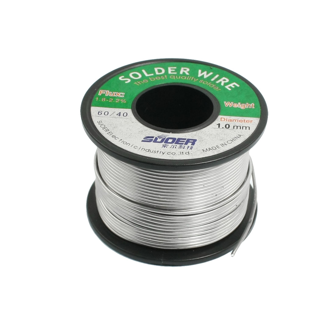 1.0mm 100g 60/40 Rosin Core Flux Tin Lead Roll Soldering Solder Wire 9.8Ft 3 meter