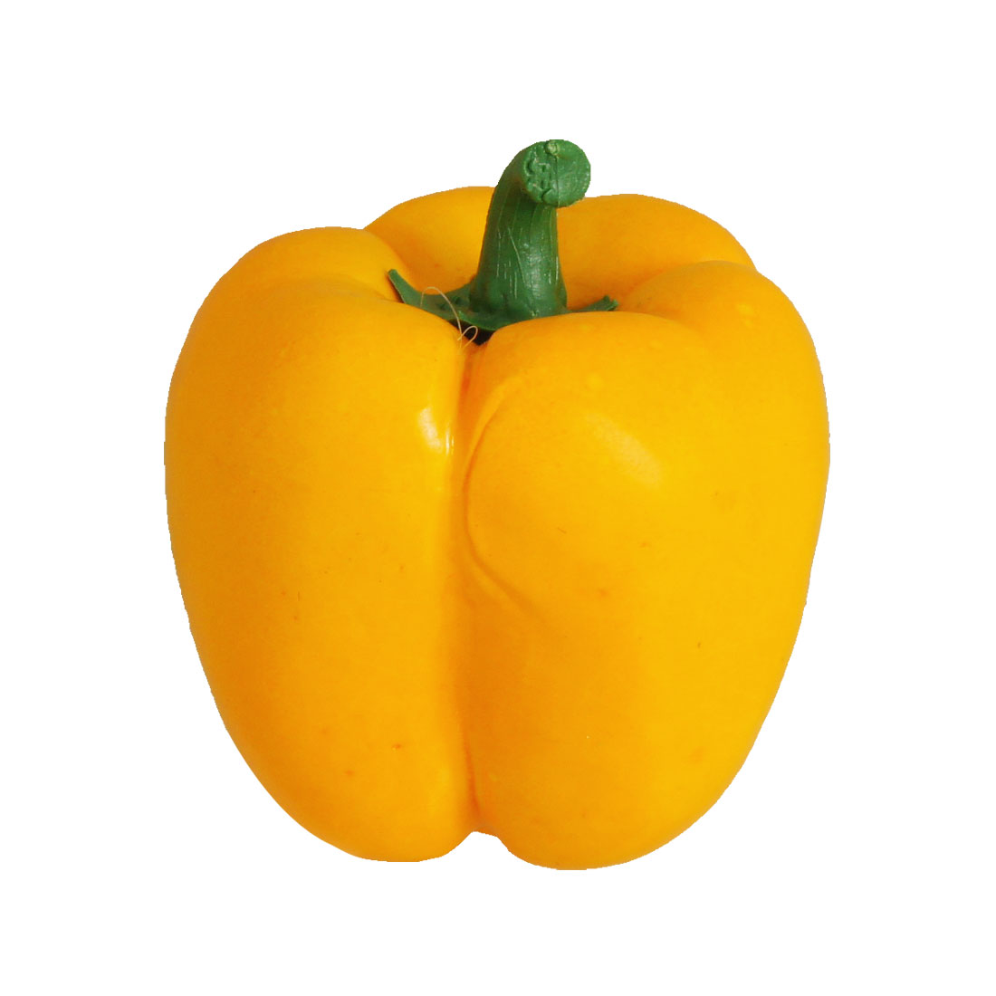 10cm High Artifical Yellow Pepper Foam Vegetables Adorn
