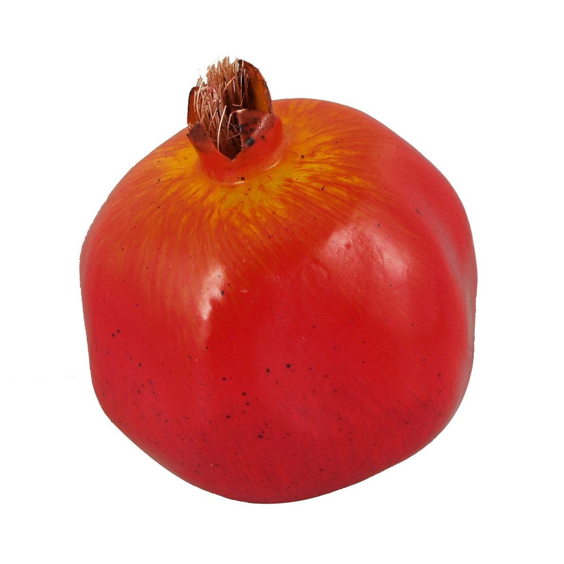 Home Desk Emulational Foam Pomegranate Imitate Fruit Decor Red