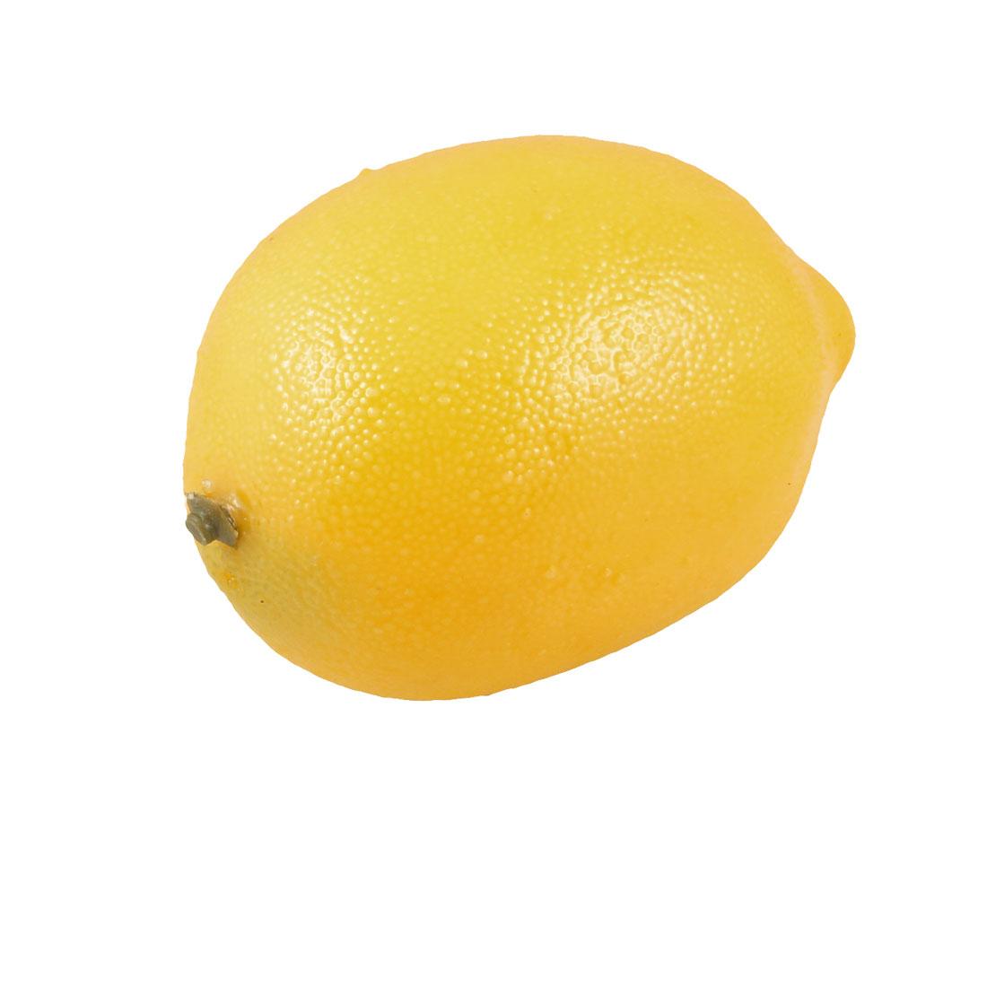 Desk Table Carbinet Ornamental Simulation Orange Foam Lemon Fruit Adorn