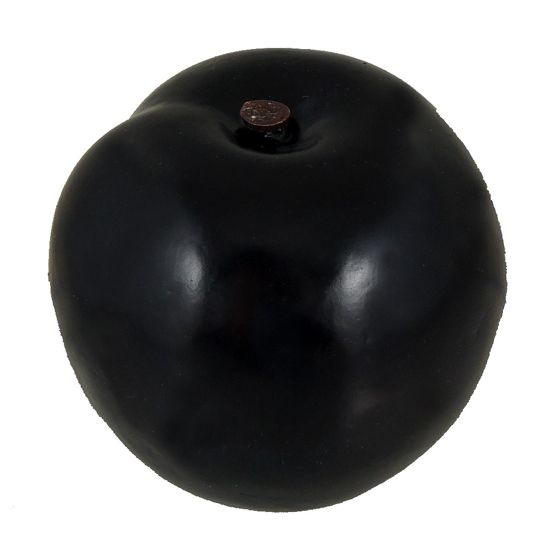 6cm High 7cm Dia Simulation Black Plum Fruit Decor for Home Table