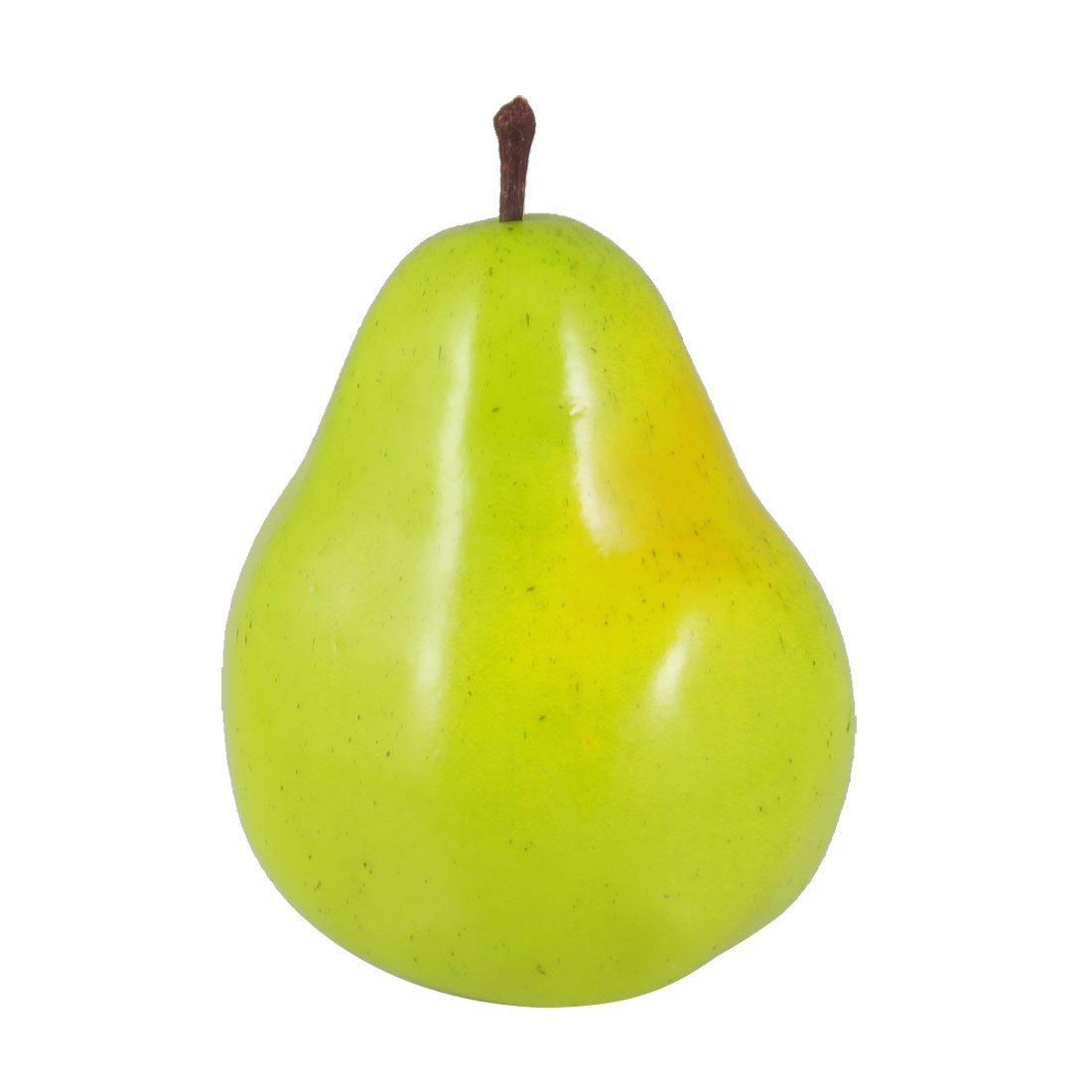 Home Cabinet Decor Simulation Foam Pear Fruit Green 11.5cm High