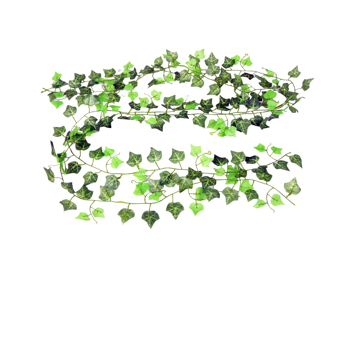 10 Pcs Home Room Detail Green Artificial Boston Ivy Vine 2.2M