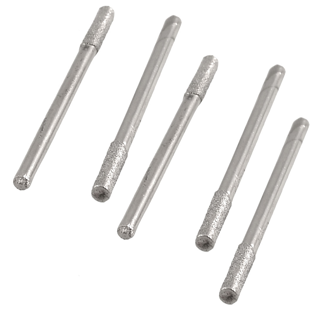 2.5mm x 2.3mm Cylindrical Nose Polisher Diamond Mounted Points File 5pcs