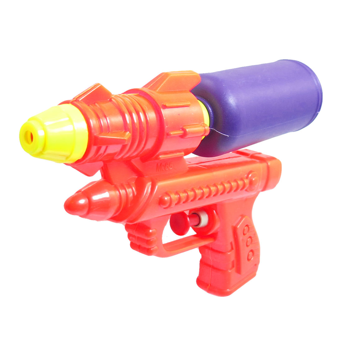 "7.5"" Length Water Gun Toy Purple Orangered for Child"
