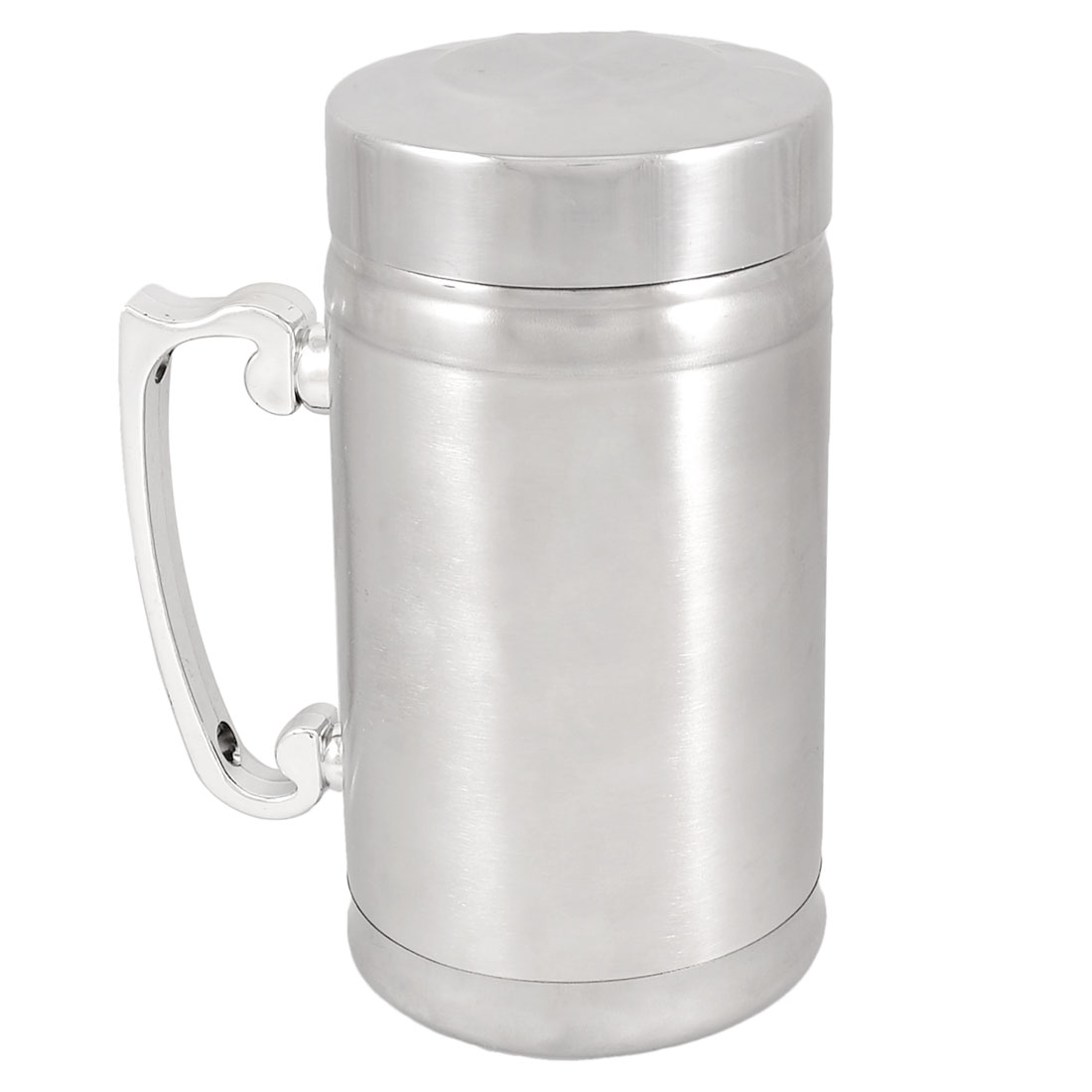 Silver Tone Stainless Steel Tea Water Drink Cup 283ml
