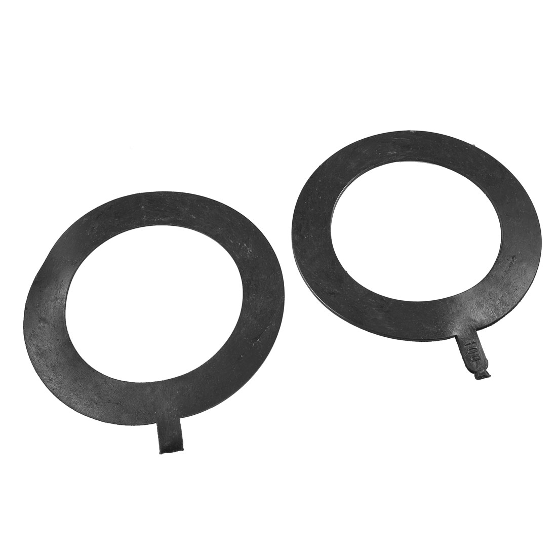 2 Pcs 150mm x 100mm x 2mm Rubber Sealing Washers Waterproof Gaskets