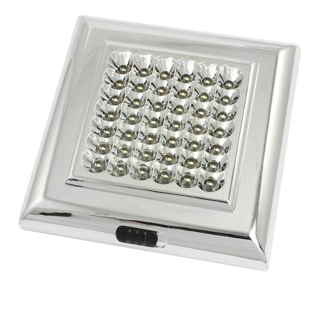 Car Interior Dome Ceiling Roof White 42-LED Light Lamp DC 12V