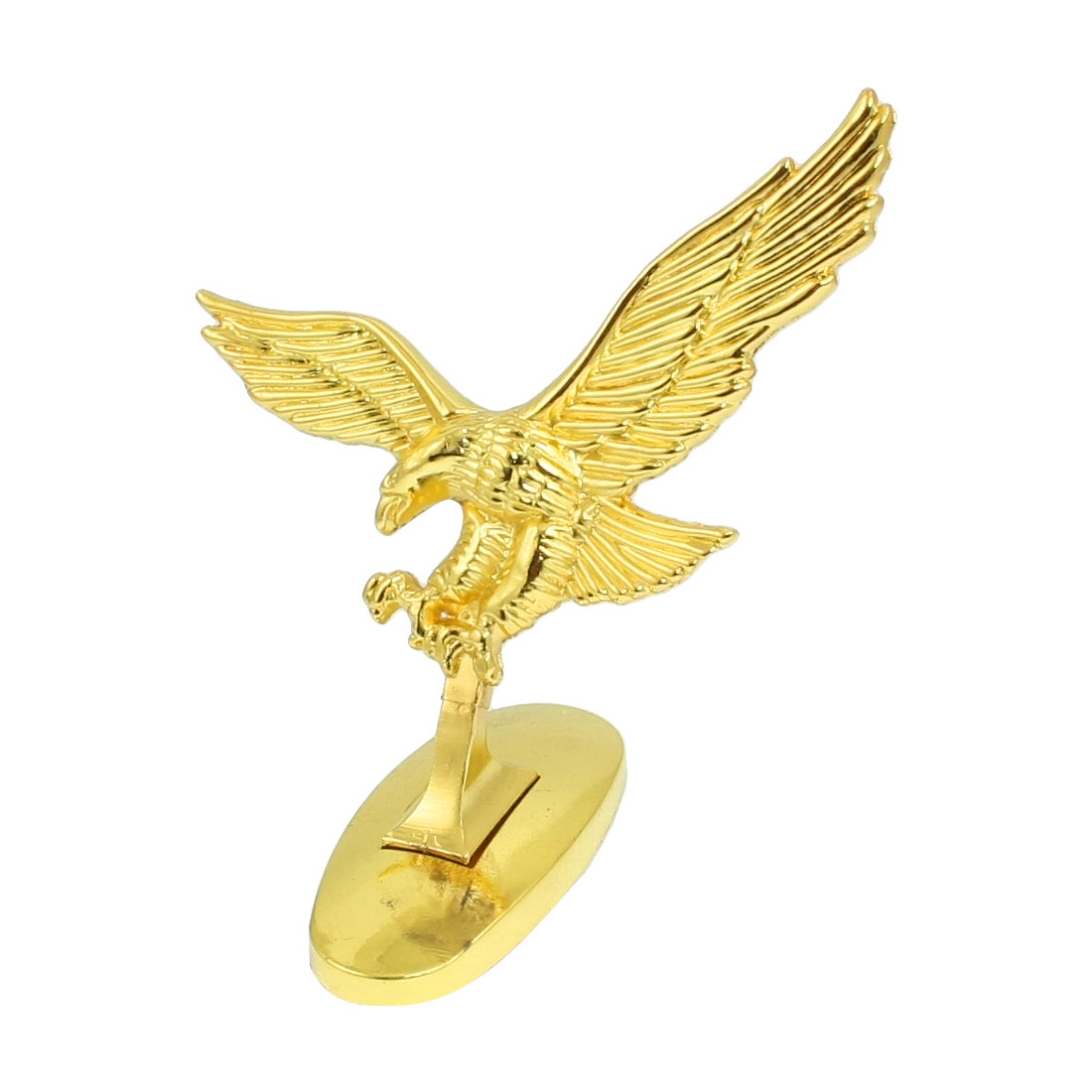 Gold Tone 3D Flying Eagle Adhesive Sticker Decal for Auto Car