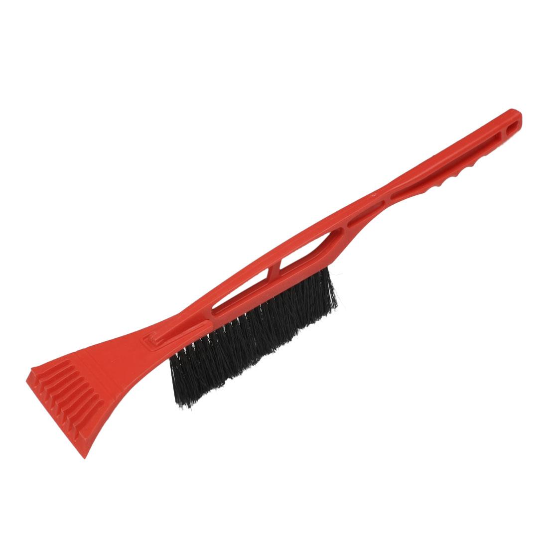 "Red Black Car Vehicle Winter Snow Brush Ice Scraper 20"""