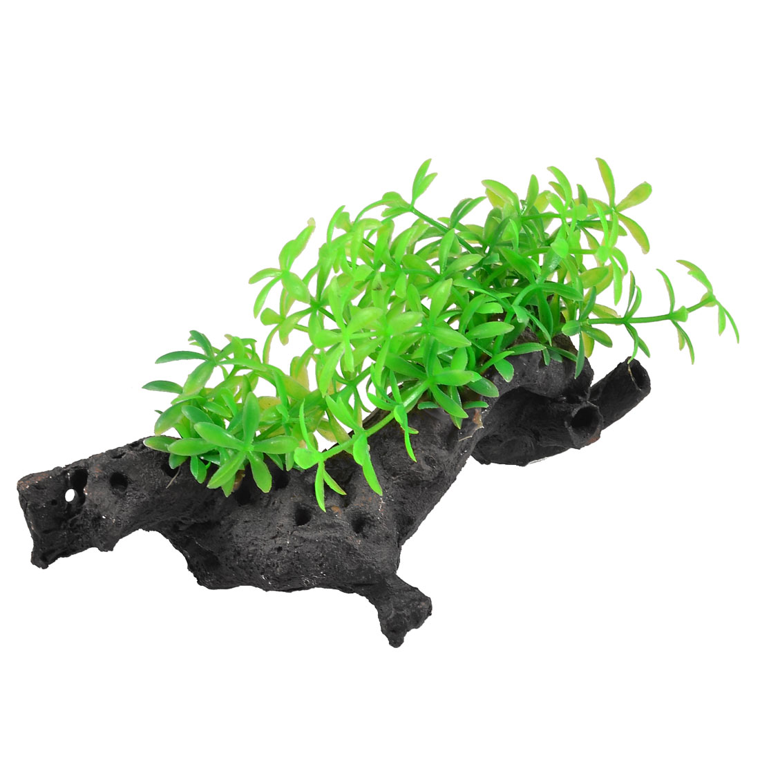 Fish Tank Ornament Aquarium Plastic Plant Decoration 3.5""