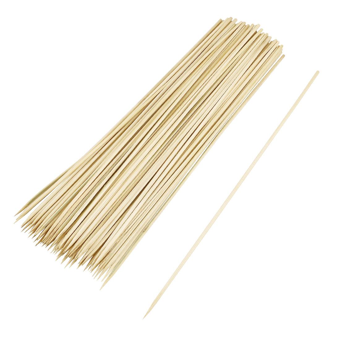 93 Pcs Bamboo BBQ Skewers Barbecue Shish Kabob Sticks