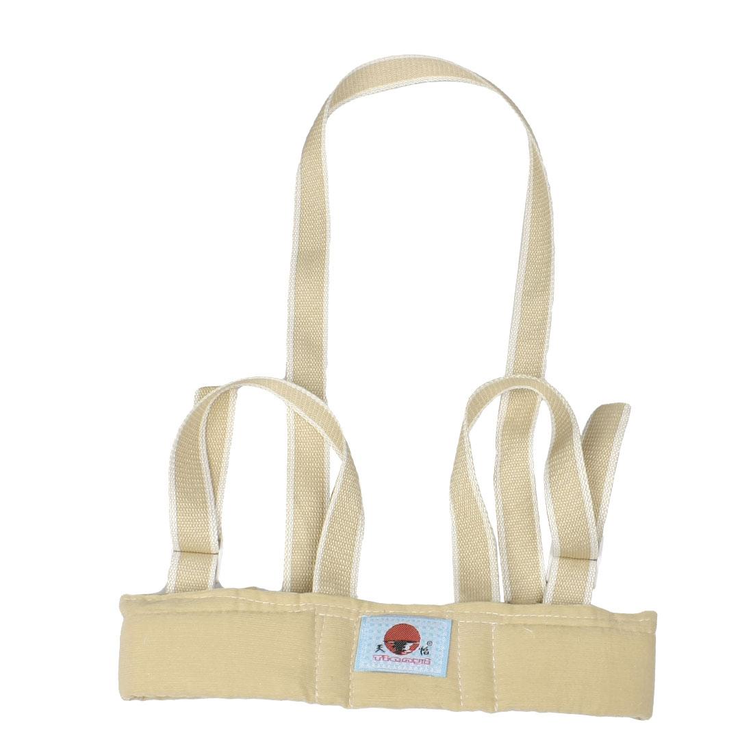Kid Toddler Walking Walker Safety Harness Padded Vest Keeper Strap Beige