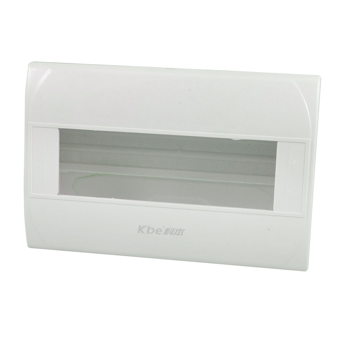 8-10 Way Rectangular White Hard Plastic Electrical Distribution Box