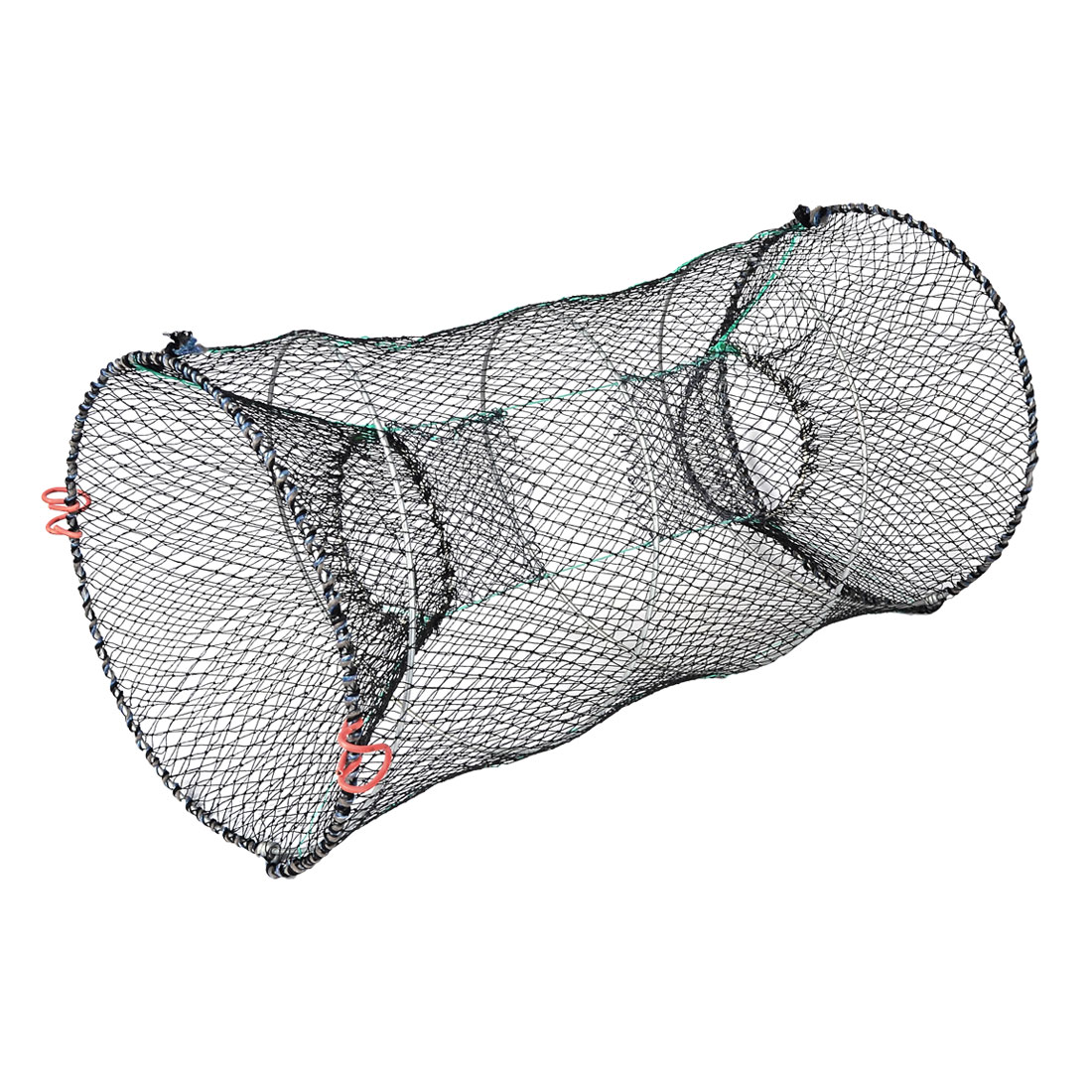 Crab Crawfish Shrimp Foldable Black Green Fishing Keep Net 23.6""