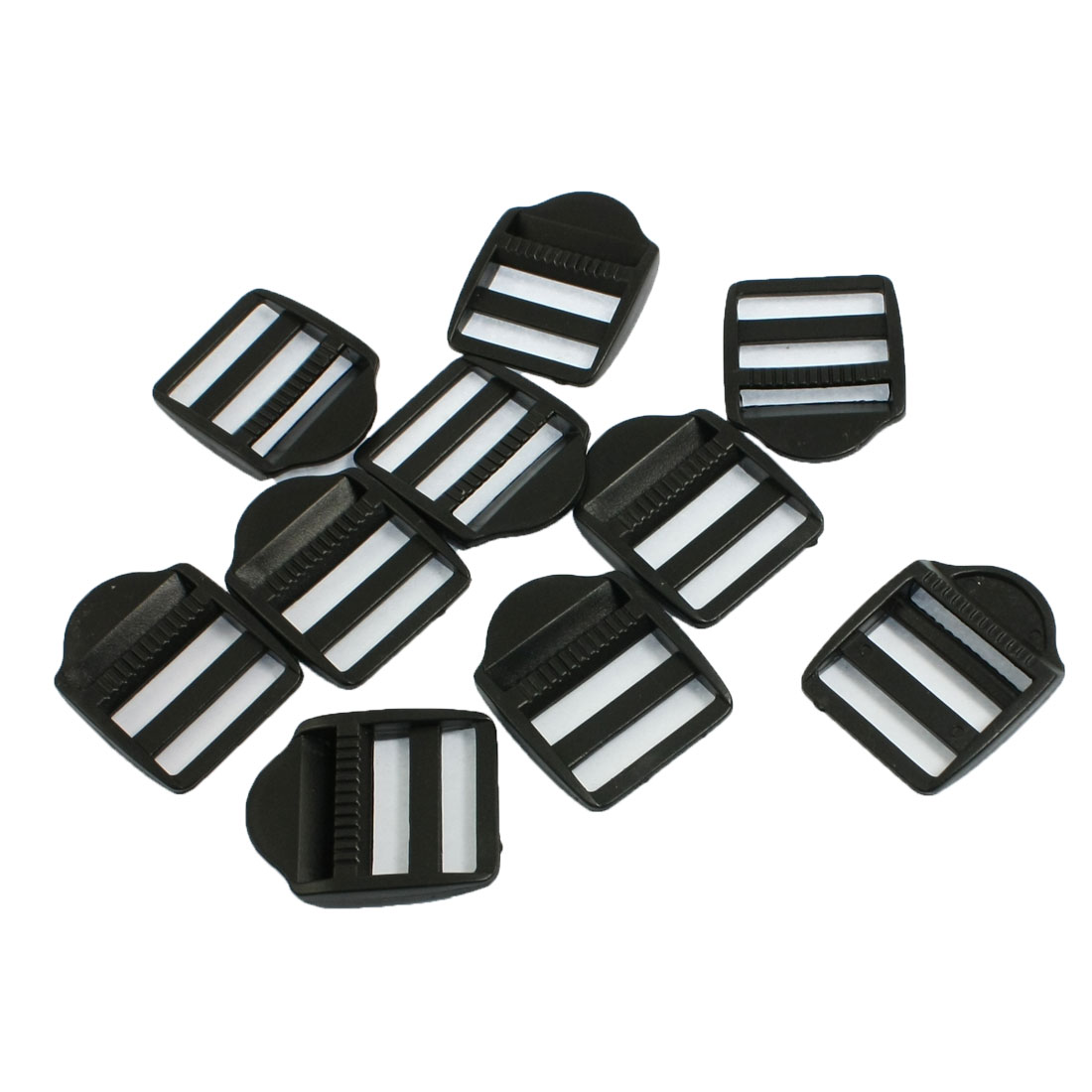 "10 Pcs Plastic Replaceable Luggage Bag Side Buckles for 1"" Width"
