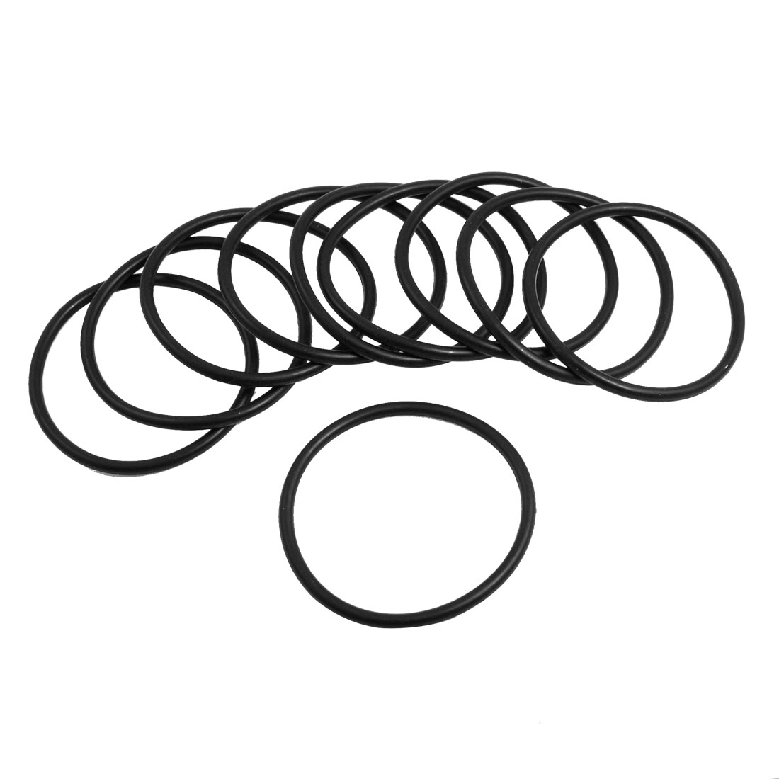 10 Pcs Oil Seal O Rings Black Nitrile Rubber 68mm OD 4mm Thickness