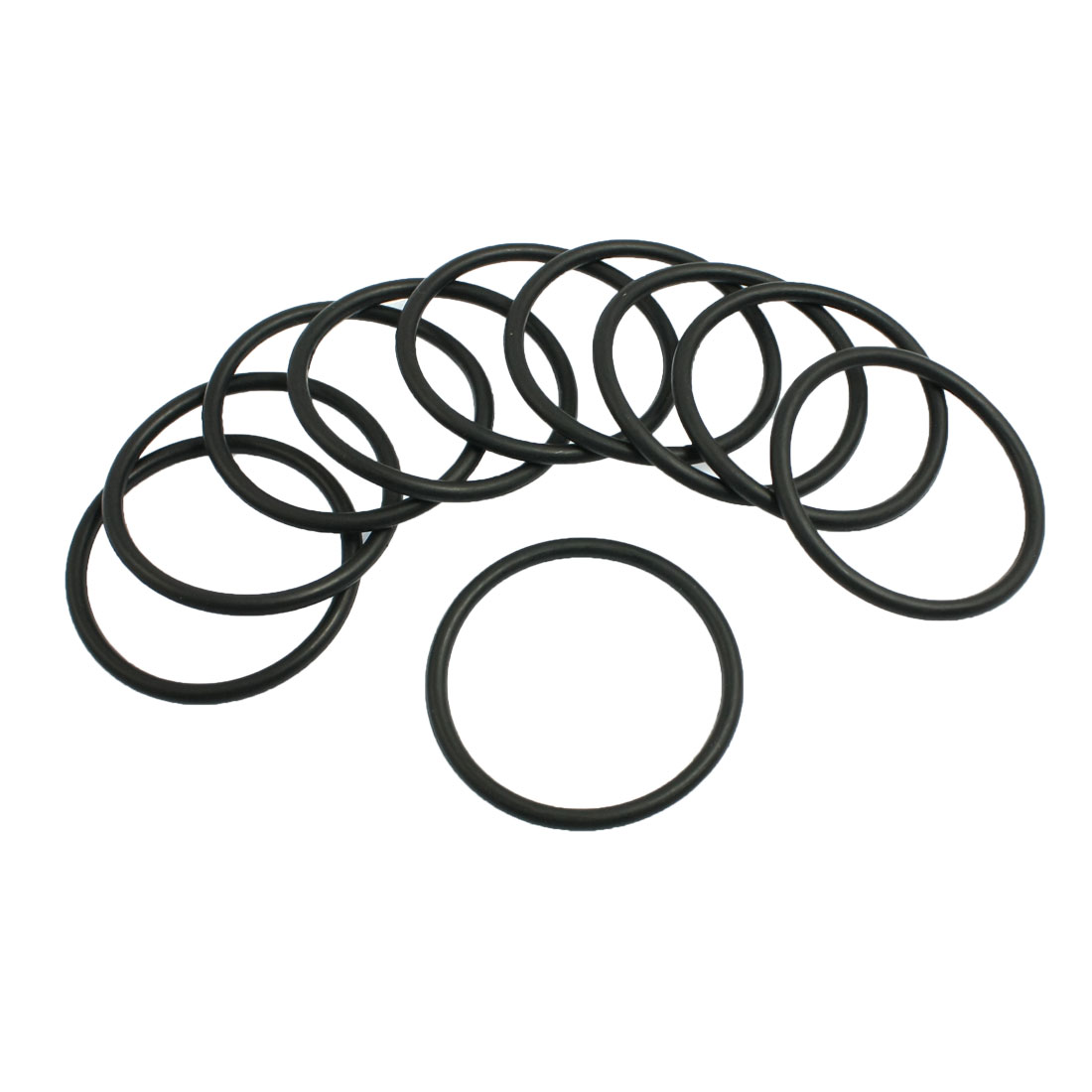 10Pcs Nitrile Rubber O Type Sealing Ring Gasket Grommets Black 4mm x 57mm