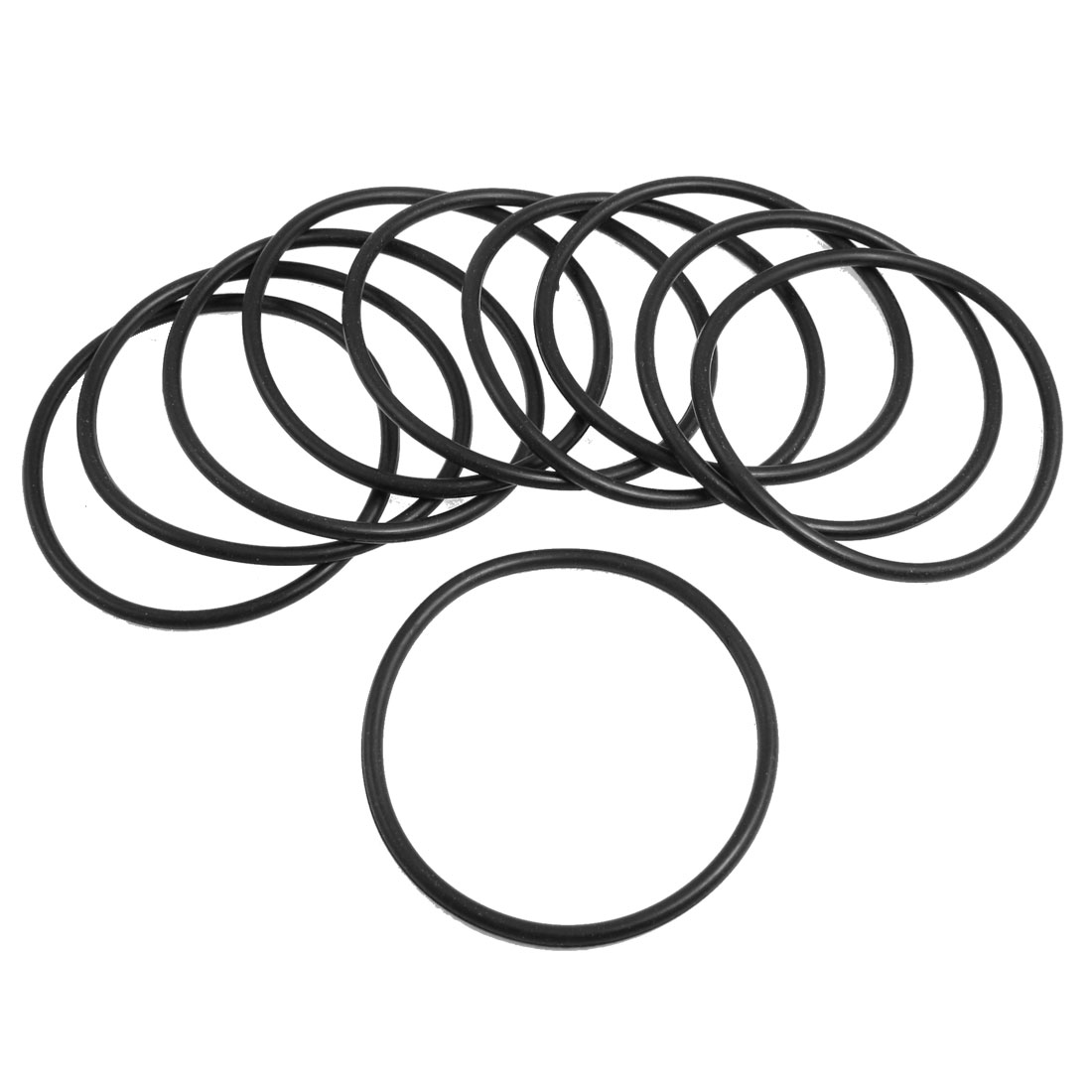 10 Pcs Oil Seal O Rings Black Nitrile Rubber 82mm OD 4mm Thickness
