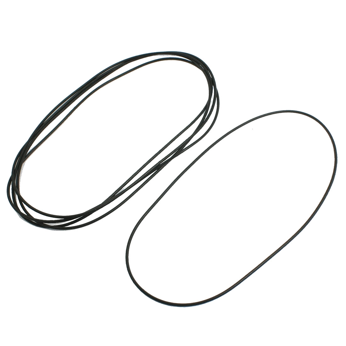 5 Pcs Oil Seal O Rings Black Nitrile Rubber 140mm OD 2mm Thickness