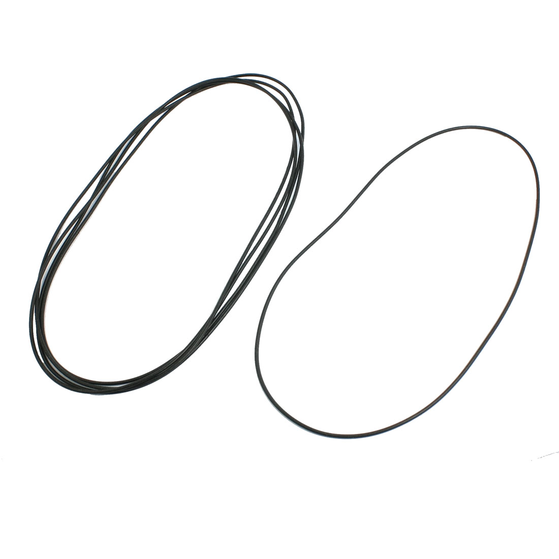 5 Pcs Oil Seal O Rings Black Nitrile Rubber 165mm OD 2mm Thickness