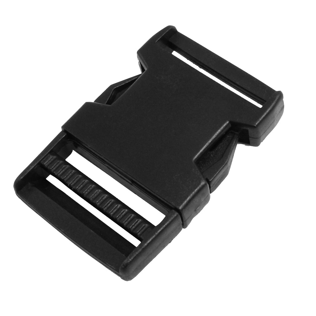 "Luggage Strap 1 1/2"" Repair Parts Side Quick Release Buckle Black"