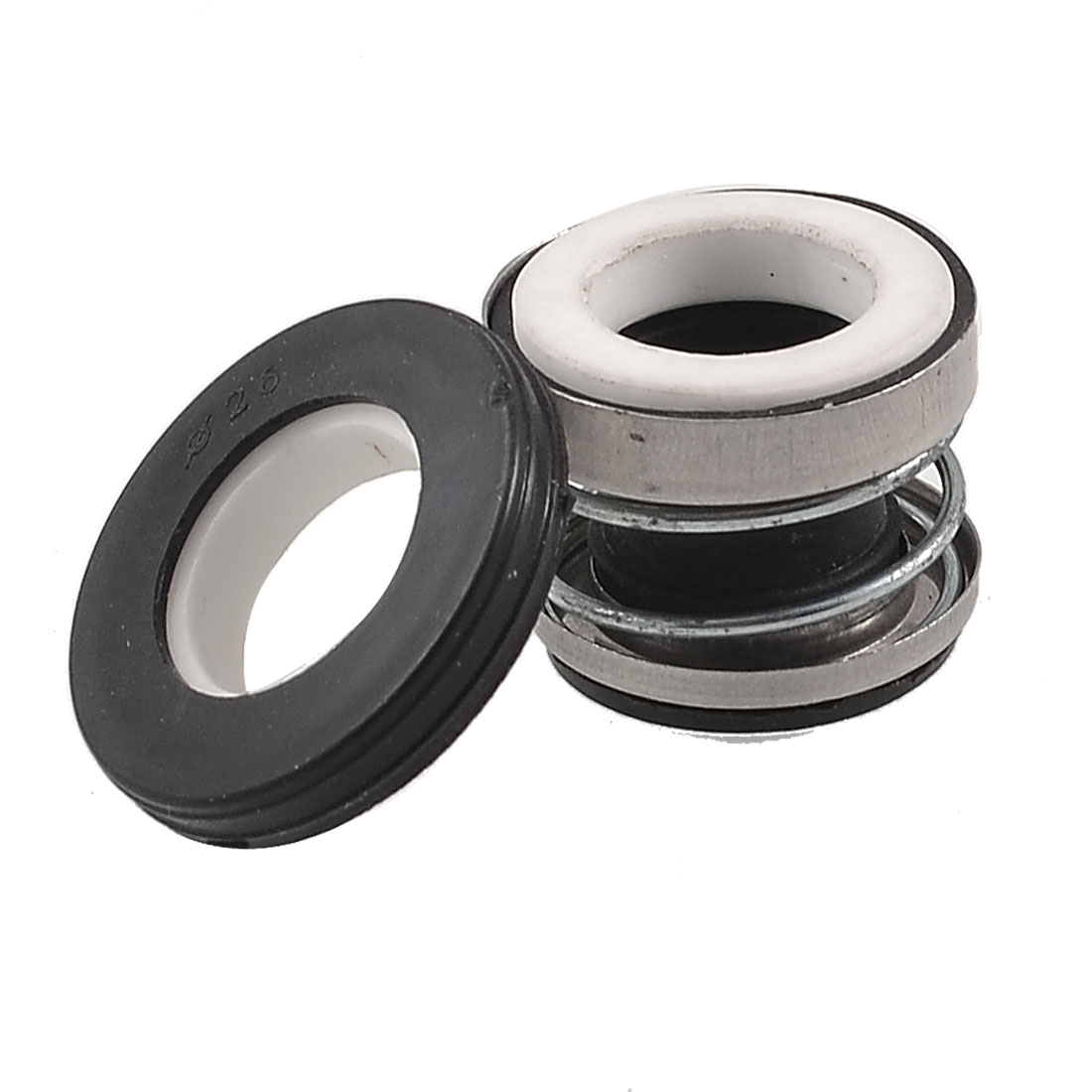 Rubber Bellows Ceramic Rotary Ring 11mm Inner Dia Pump Mechanical Seal